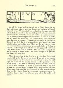 Brambler Editorial 1931