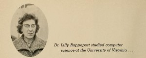Lilly Rappaport - photo